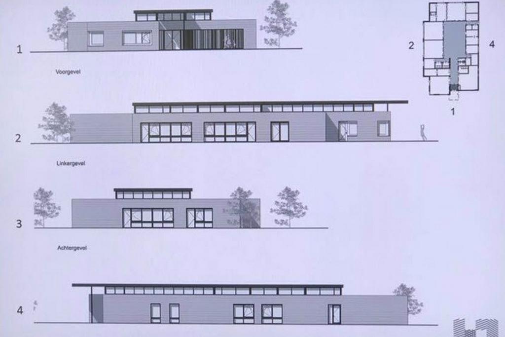 De bouwtekening van het IKC
