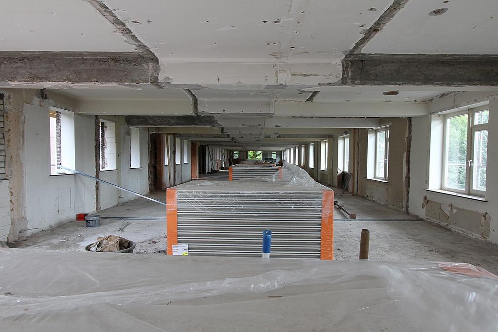 leeggeruimde etage (foto: Ron Wijdeveld)